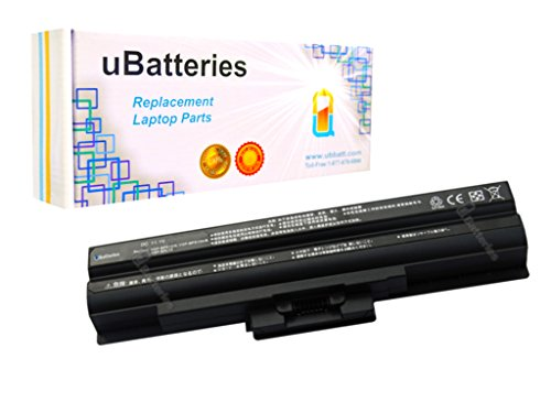 UBatteries Laptop Battery Sony VAIO VGN-NW350F - 11.1V, 5200mAh, Samsung 2.6A Cells - UBMax Series (Criminal)