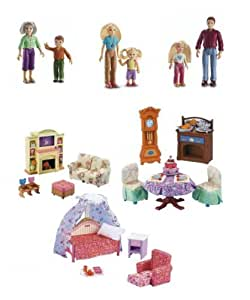fisher price loving family gift set 6 dolls
