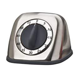Amco 60-Minute Timer, Nickel by Amco