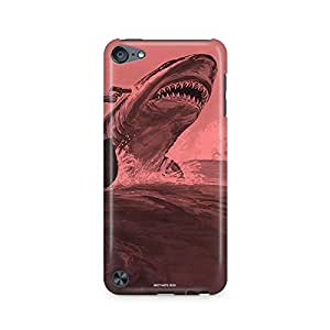 Motivatebox - Apple Ipod Touch 5 Back Cover - Sailors and Shark Polycarbonate 3D Hard case protective back cover. Premium Quality designer Printed 3D Matte finish hard case back cover.