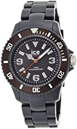 Ice-Watch Ice-Solid Dark Grey Anthracite Unisex plastic bracelet watch SD.AT.U.P