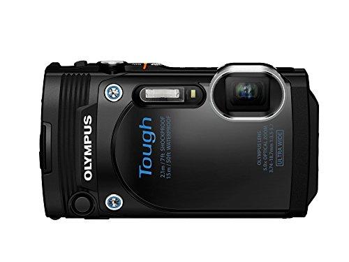 Olympus TG-860 Tough Waterproof Digital Camera with 3-Inch LCD (Black)