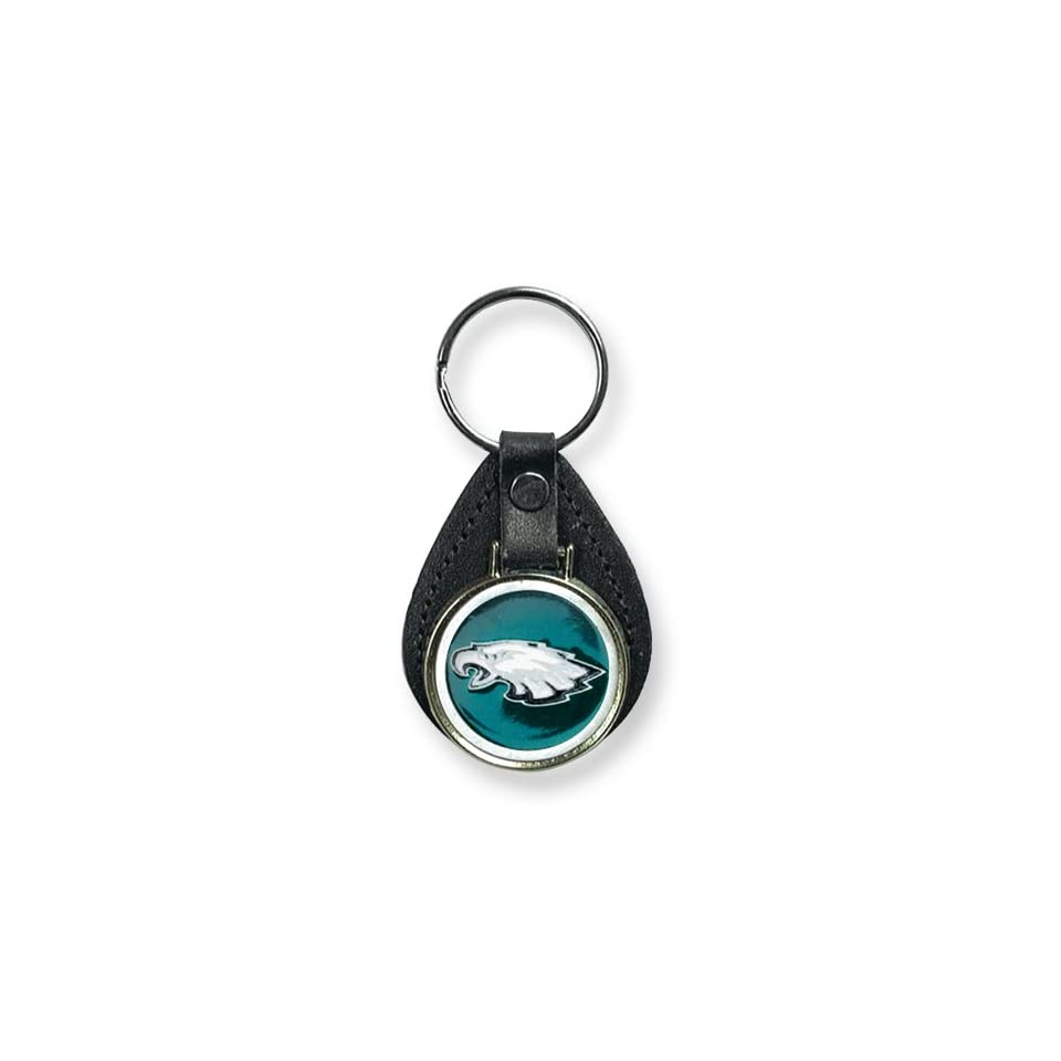 Philadelphia Eagles Leather Key Ring