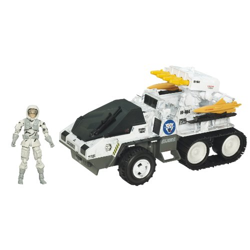 Buy Low Price Hasbro Gi Joe Bravo Vehicle With Figure – Wolf Hound With Whiteout V1 (B003E0Q0MU)