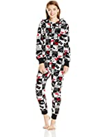 Hello Kitty Women's Hooded One Piece Pajama