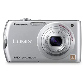 Panasonic DMC-FX75S 14.1MP Digital Camera with 5x Optical Image Stabilized Zoom with 3 inch LCD (Silver)