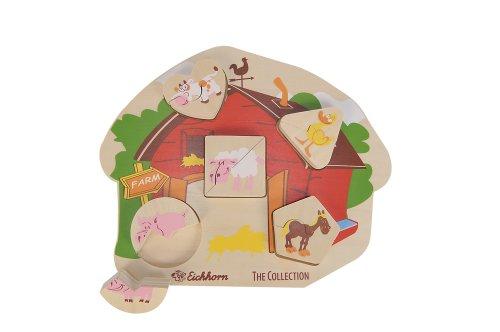 Eichhorn 100004932 - Holz Bauernhof Puzzle