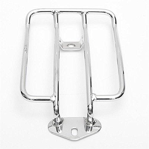 moto-bagages-argent-support-etagere-porte-cadre-de-la-queue-pour-siege-solo-harley