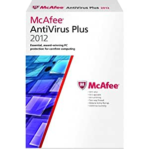 McAfee Anti Virus Plus 1 user