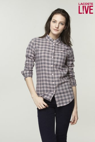 L!VE Long Sleeve Check Shirt
