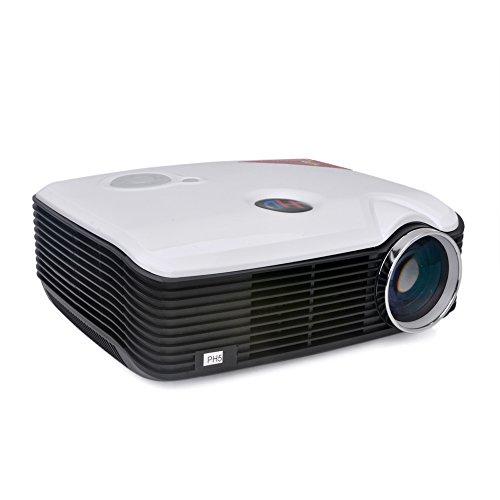 Docooler Hd Led Projector For Home Theater 2500 Lumens Hdmi Vga Av Tv Usb