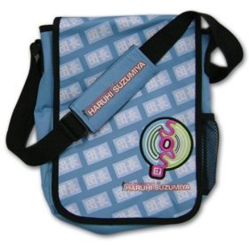 The Melancholy of Haruhi Suzumiya: SOS Anime Messenger Bag