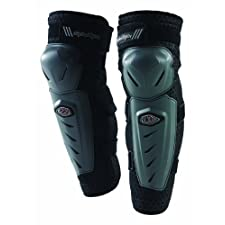 Troy Lee Designs Combat Knee Guards, Black, Standard