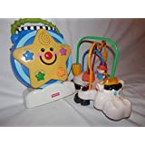 Fisher Price Musical Toy And Light Show.and V Tech Little Smart Moosical Beads