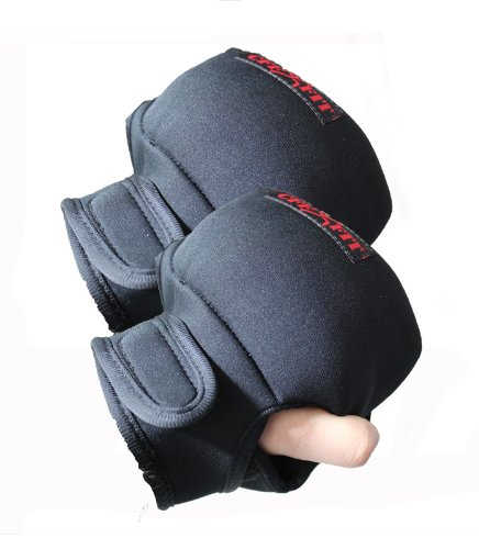 CFF 8 Lb Weighted Gloves 4 Lbs Per Hand Turbo Jam Boxing