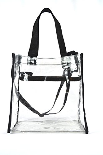 Clear Tote Stadium NFL Approved Bag 12 x
