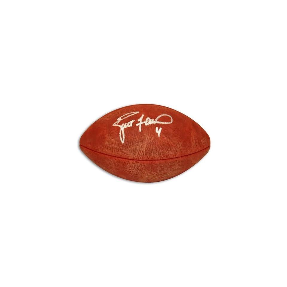 Brett Favre Autographed/Hand Signed NFL Football  Sports