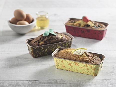 Paper Bakeware Loaf Pan,bake your Loafs Cakes, Banana Cake, Seed Bread. Anything you wish to bake in a rectangular shape Size L 6 1/5