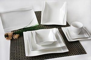 tafelservice esta 38 tlg zellerfeld geschirrset geschirr set teller service k che. Black Bedroom Furniture Sets. Home Design Ideas