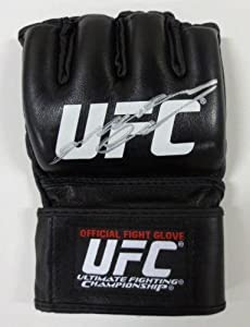 Anderson Silva Signed/Autographed MMA UFC Official Glove JSA - Autographed UFC Gloves