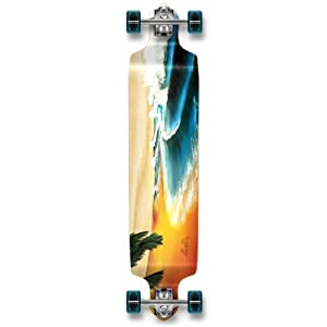 Buy YOCAHER Professional Speed Drop Down Complete Longboard Skateboard by The Epic Sports