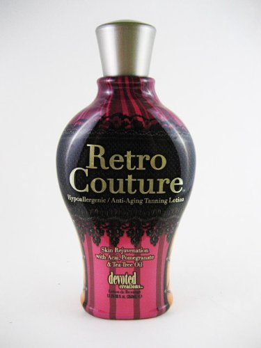 2009 Devoted Creations Retro Couture Tanning Lotion