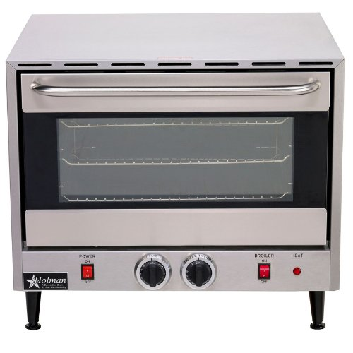 New Star Commercial Electric Convection Oven 3 Rack Single Half Size Countertop