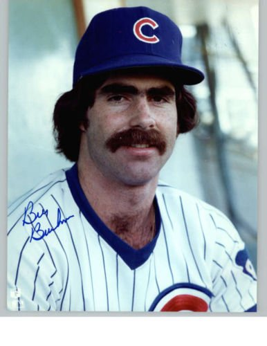 BILL BUCKNER CUBS SIGNED PHOTO 8X10 ID # 25816