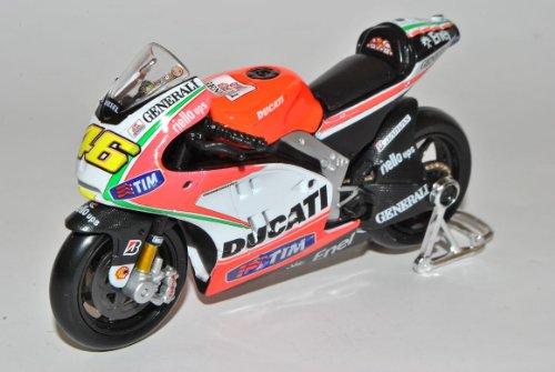 Ducati Desmosedici GP12 Valentino Rossi Nr 46 2012 MotoGP 1/18 Maisto Modell Motorrad