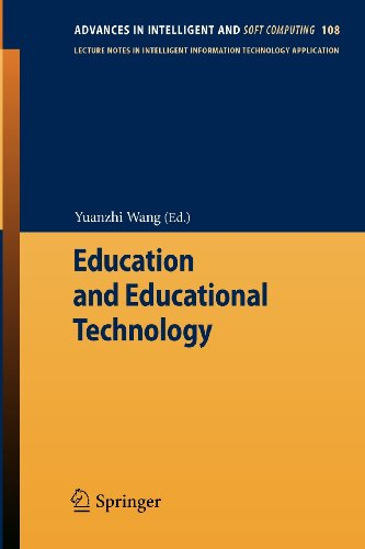 Education and Educational Technology (Advances in Intelligent and Soft Computing)