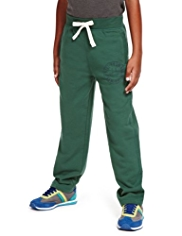 Cotton Rich Wide Waistband Drawstring Joggers