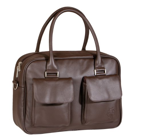 lassig fashion urban diaper bag faux leather choco diaper bags babies. Black Bedroom Furniture Sets. Home Design Ideas