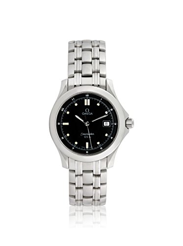 Omega Men's Pre-Owned Seamaster Black/Stainless Steel Watch