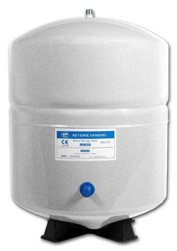 4-Gallon-Metal-Bladder-Tank-RO-Reverse-Osmosis-NSF-Certified-White-by-PA-E