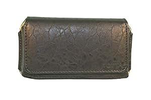 Totta Pu Leather Hand Pouch For Archos Diamond 2 Plus, Black