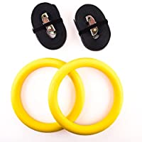 Faswin Gymnastic Rings for Full Body Strength and Crossfit Training from Faswin