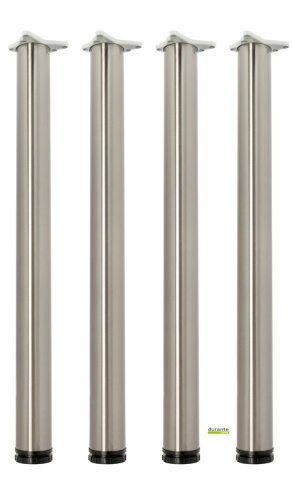Tischbeine-4er-Set-Hhe-710-mm-Edelstahl-O