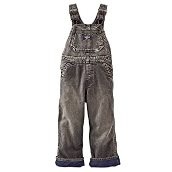 oshkosh b 39 gosh baby boys fleece lined overalls. Black Bedroom Furniture Sets. Home Design Ideas