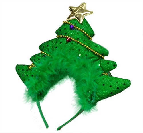 Christmas Tree Fascinator