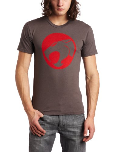 Bioworld Men's Thundercats Logo Tee, Charcoal, XLarge Picture