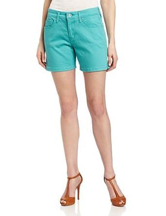 (清仓)里维斯Levi's Women's Pieced Pocket Short美女多口袋短裤$11.62 黄颜色