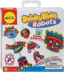 Alex Toys Shrinky Dinks Kit: Robots