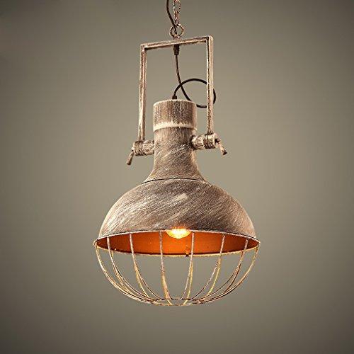 loft lampadario creative personalità retro schermo Iron Restaurant Bar retrò soggiorno character design studio lampadario