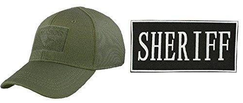 [Condor Flex OD GREEN Cap Large/XL + ENFORCEMENT ID PATCH 2