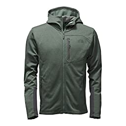 The North Face Canyonlands Full Zip Hoodie - Large/Duck Green Heather
