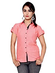 GMI Women's Solid Casual Shirt