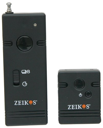 Zeikos Ze-Wsrn Professional Wireless Remote Shutter Release For Nikon Digital Cameras