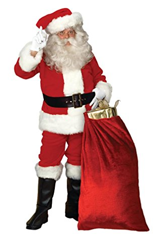 Imperial Red Santa Suit Costume - X-Large