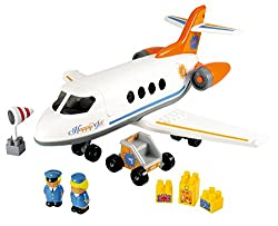 Ecoiffier Abrick Happy Jet Plane, Multi Color