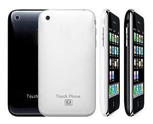 "CECT i9 3G Tèlèphone Portable PDA Double Carte SIM 3.2"" Ecran Dual SIM"